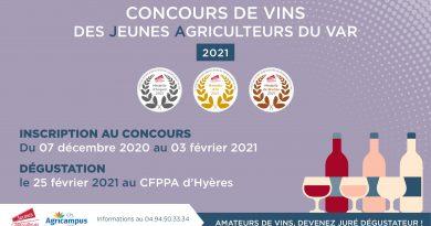 Cuvée 2021 des Jeunes Agriculteurs du Var
